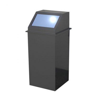 Abfallbehälter mit Schwingdeckel