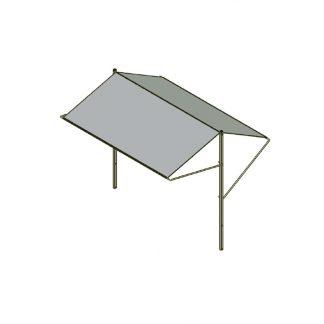Dach für Mehrzweckwagen/Blumenwagen BW 1826