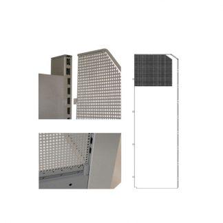 Gondelkopfseitenwand - 2000 x 400 für Linde Regal