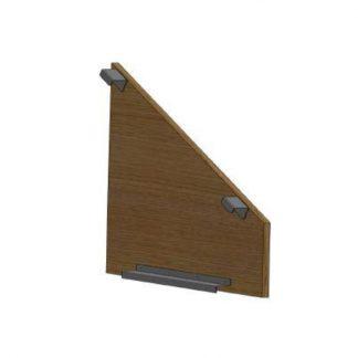 Seitenverkleidung für OG 1250/1254, rechts, Holzfarbe: Driftwood