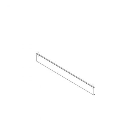 Gestell zur Preisauszeichnung Preisschiene Paar 1500 mm (low-Version)