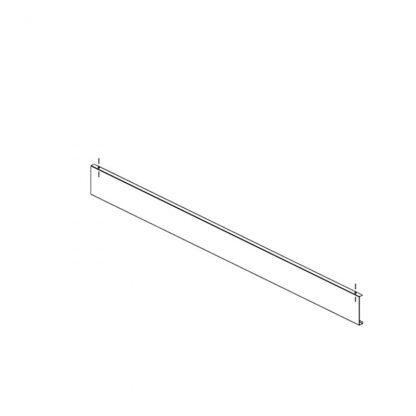 Gestell zur Preisauszeichnung Preisschiene Paar 2000 mm (low-Version)