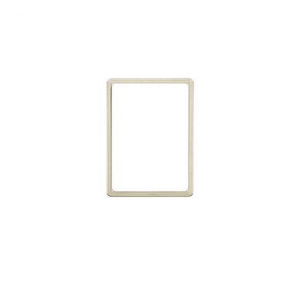Warenschildträger / Rahmen, DIN A4 aus Kunststoff, tranparent