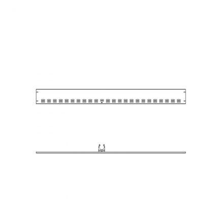 Rammschutz Frontleiste für 2 Ecken für 210 cm AHT-Truhen