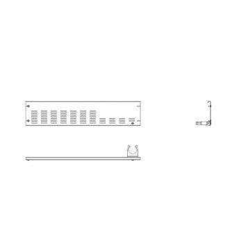 Rammschutz Stirnleiste rechts für 185 cm AHT-Stirntruhen