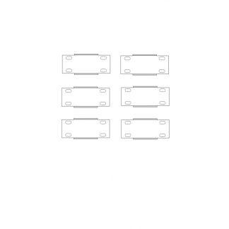 SET-B 6x Verbinder kurz (ohne SSL)