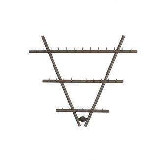 Wurstgehänge in V-Form aus Edelstahl
