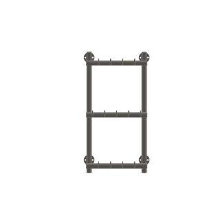 Wurstgehänge in Leiter-Form aus Edelstahl